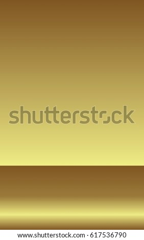 texture of foil background. Smooth golden surface.