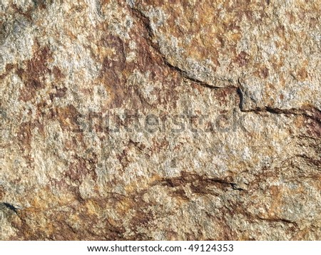 texture of white stone, wall background - stock photo