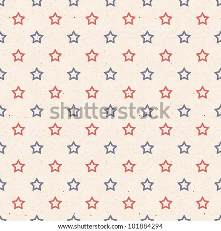 texture pattern with the colors of the American flag - stock photo