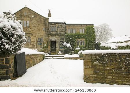 17th  century  Yeomanhouse, Rishworth, West Yorkshire, England, UK - stock photo