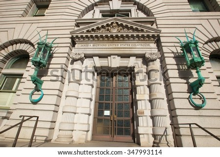 9th Circuit Court of Appeals, San Francisco, California - stock photo
