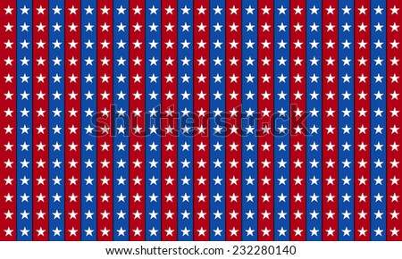 4th of July independence day background, July 4th, Memorial Day, Independence day.  - stock photo