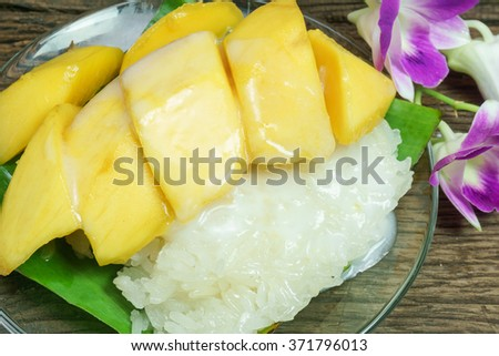 Thai Mango with Coconut Sticky Rice