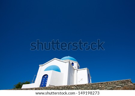 The Agios Mina Cathedral. There are two churches dedicated to Agios Minas. The larger is the cathedral, consecrated in 1895, and it is the largest church in Crete.