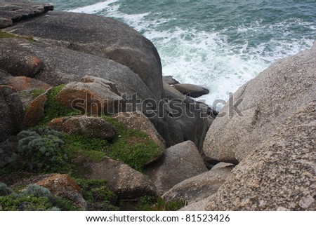 'The bluff', at Victor Harbour, South Australia - stock photo