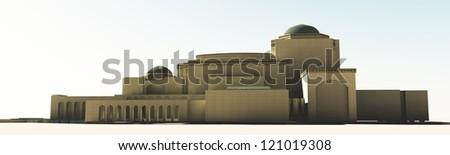 The Cairo Opera House - stock photo