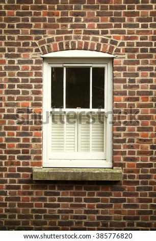The house window represent the house decoration and construction concept related idea. - stock photo