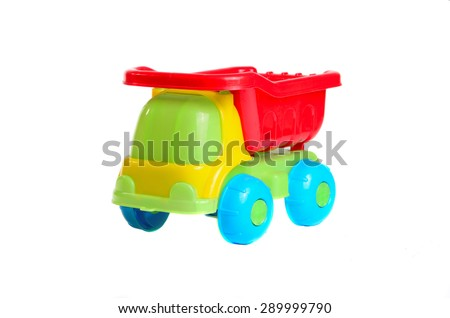 Toy car truck  - stock photo