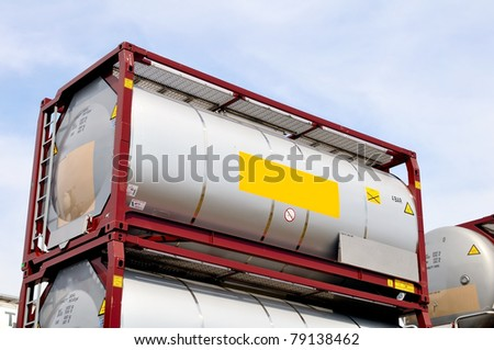 transport container - stock photo