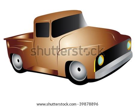 truck - stock photo