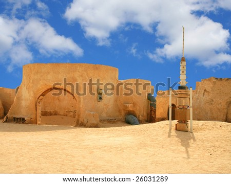 "tunisia, decoration, scenery - films ""Star Wars"" I"