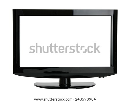 TV  isolated on white background
