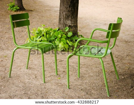 Garden Furniture France metal garden furniture stock images, royalty-free images & vectors