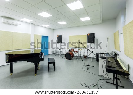 Music Classroom Stock Images Royalty Free Vectors