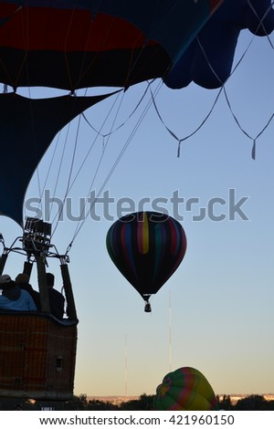 169 Untethered - Taken at the Albuquerque International Balloon Fiesta, New Mexico.