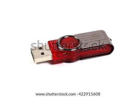 ?USB flash drive  - stock photo
