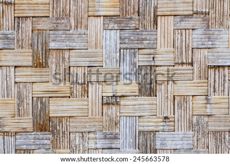 weave bamboo texture background