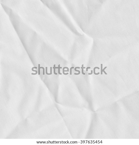 White linen cotton fabric thin type with nature material