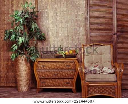 Wicker Furniture Wicker Furniture Interior Room