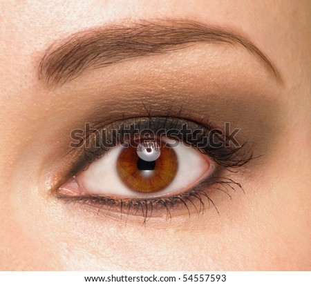 Women eyes - stock photo