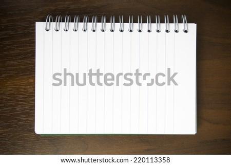 workbook background - stock photo
