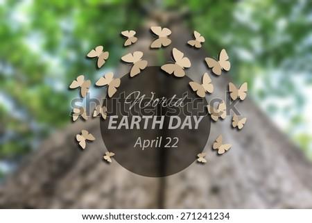 World earth day - stock photo