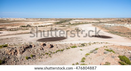 world famous Coober Pedy Opal Fields Golf Course, the only club in the world with reciprocal rights to Saint Andrews in Scotland, the home of golf.