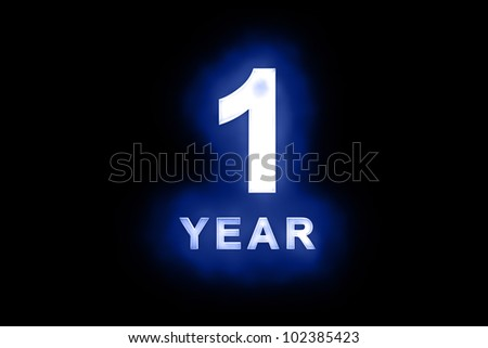 First anniversary stock images royalty free images vectors