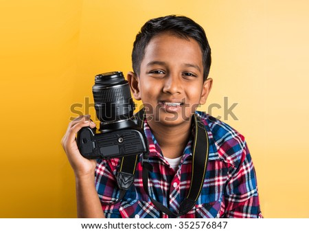 Young Boy Camera Digital Photographer Stock Images, Royalty-Free ...