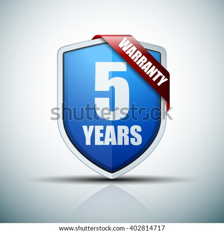 5 years warranty shield