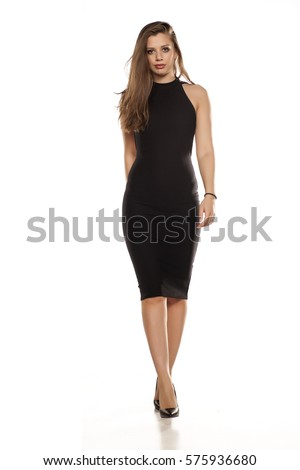 Woman in Dress