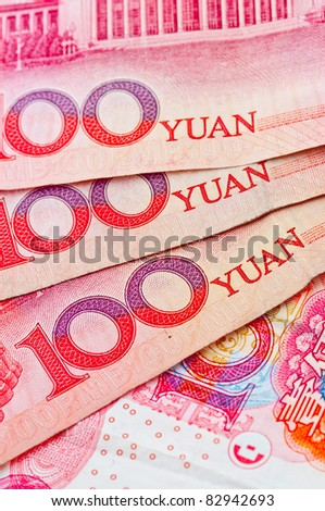 100 Yuan China Currency