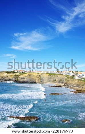 Zambujeira do Mar beach,  Portugal  - stock photo