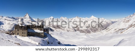 zermatt, switzerland, matterhorn, real panorama
