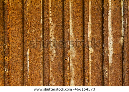 """Zinc"" old metal wall background. Rusty metal. Stained metal surface. Old rusty zinc plat wall, Zinc wall ,rusty Zinc grunge background. process in vintage style"