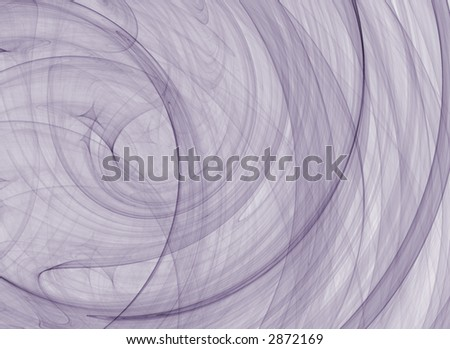 A background of dark blue swirls