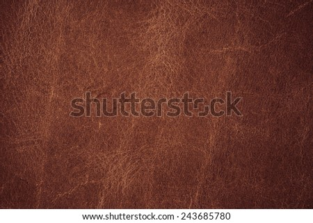 A background texture of brown colored leather