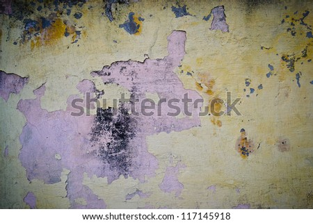 a background with grunge wall - stock photo