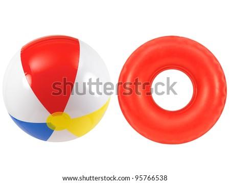 rubber tube beach ball rubber tube together stock photo 95766538 shutterstock