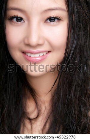 A beautiful girl - stock photo