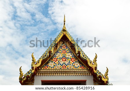 a beautiful pagoda in thailand