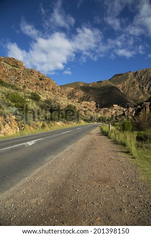 A beautiful scenic route in South Africa