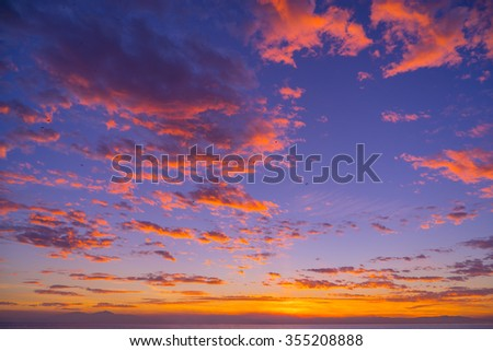 A Beautiful seascape. Composition of nature. - stock photo