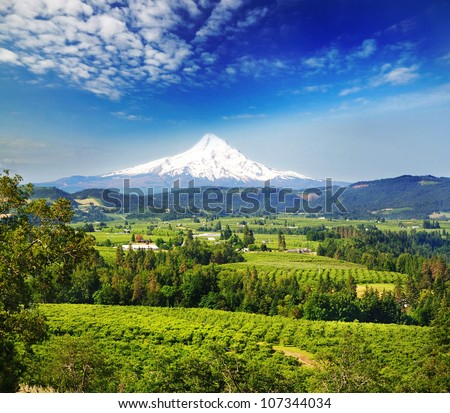 A beautiful view from panaroma view point - stock photo