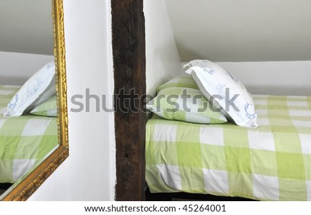 A bedroom - stock photo