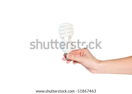 A BETTER LIGHT BULB WITH HAND