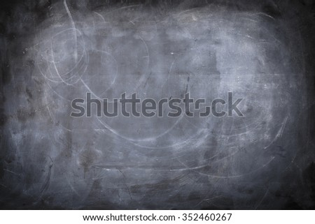 A black and white background of a chalkboard with texture.