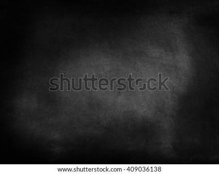 A blank blackboard - stock photo