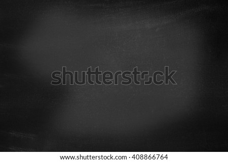 A blank blackboard surface - stock photo