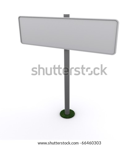 a blank plate isolated on a white background